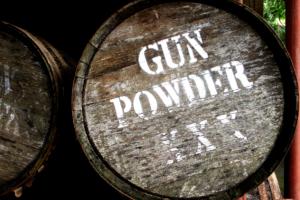 gunpowder barrels